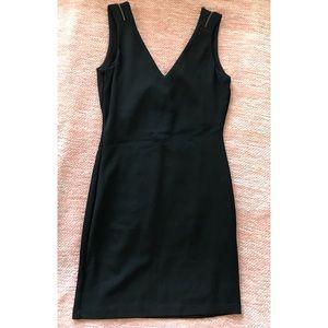 Black mini dress. New